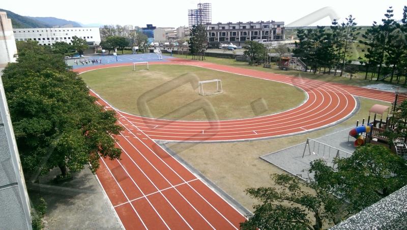 球場跑道,運動設施,PE人工草跑道,高景