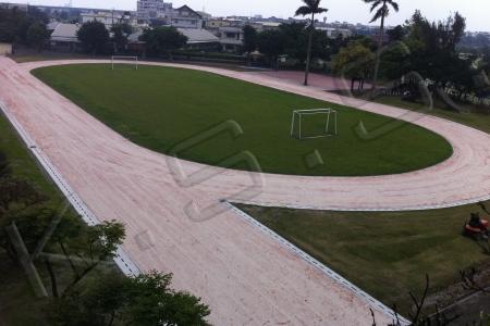 球場跑道,運動設施,PP人工草跑道,高景