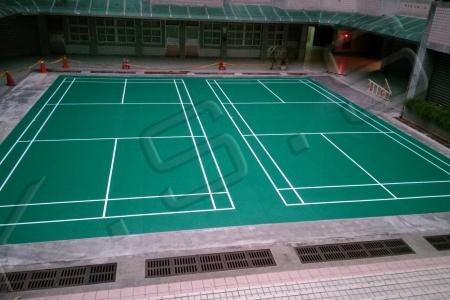 球場跑道,運動設施,高景,PVC羽球地墊