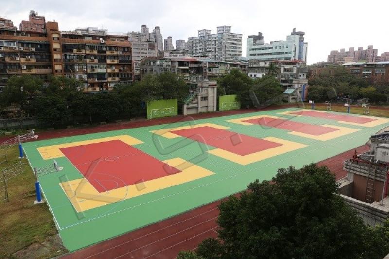 球場跑道,運動設施,高景,球場,無彈性壓克力球場