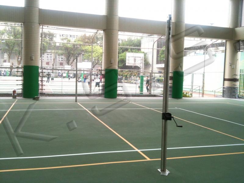 球場跑道,運動設施,高景,排球柱