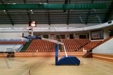 球場跑道,運動設施,高景,籃球架,機械式籃球架